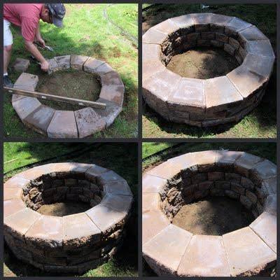 Modele gratar de gradina i dreamgardens for How do i build a fire pit